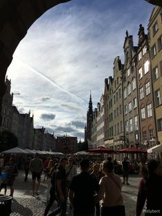 Gdansk astonishes the more you walk around. Especially after seeing pictures how destroyed the city was after WWII. See Picture, Poland, Wwii, Street View, Couples, City, Pictures, World War Ii, Cities