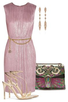 """""""Untitled #404"""" by sherristylz on Polyvore featuring Gucci, Chanel, Gianvito Rossi and Fernando Jorge"""