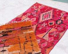 Vintage Moroccan Boucherouite Ourika Rug The por LoomAndField