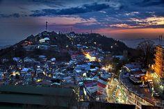murree by night, Pakistan