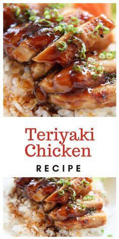Learn what are Chinese Poultry Food Preparation - Melhores Receitas Easy Chicken Recipes, Asian Recipes, Recipe Chicken, Baked Teriyaki Chicken, Panda Express Teriyaki Chicken, Teriyaki Sauce, Healthy Dinner Recipes, Cooking Recipes, Japanese Recipes