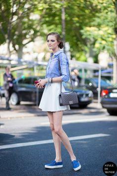 Vlada Roslyakova Street Style Street Fashion by STYLEDUMONDE Street Style Fashion Blog