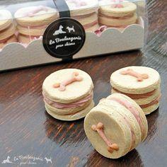 Coffret biscuits gourmands à la vanille pour chiens BIO | #Cadeau pour #chien #LBPC