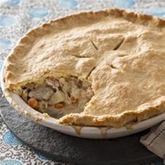 Chicken pot pie is nearly always a guaranteed win. Add bacon, and your odds are even better. Add a cream-cheese pie crust? That's a home run for sure!