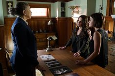 BuddyTV Slideshow | 'Pretty Little Liars' Episode 6.8 Photos: Is Rosewood Turning Against the Liars?