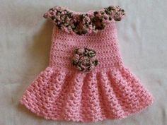 Crochet Dog Doggie Shirt Clothes