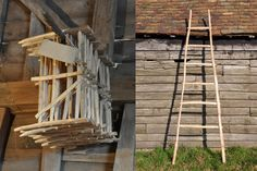 Chestnut hurdles and ladders