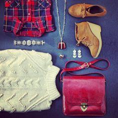 Comfy, cozy and oh-so-Silpada-ish! Shop it: silpada.com #OOTD #WomensFashion #SterlingSilver #Plaid