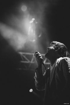 """I just saw a """"Shut Up and Play The Hits"""" screening, and I really liked the simple but perfectly worked photography of it.  Oh, and this is James Murphy from LCD Sound system, in 2010"""