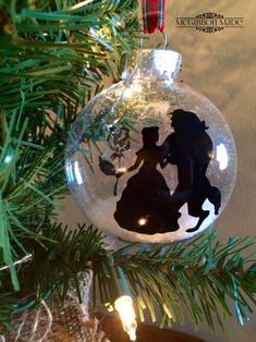 Beauty and The Beast Ornaments