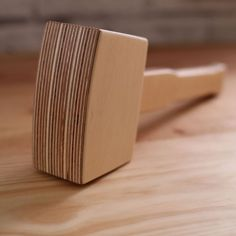DIY plywood mallet, with printable template!