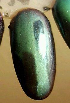 GreenBlueRed CHAMELEON chrome pigment powder for gel polish