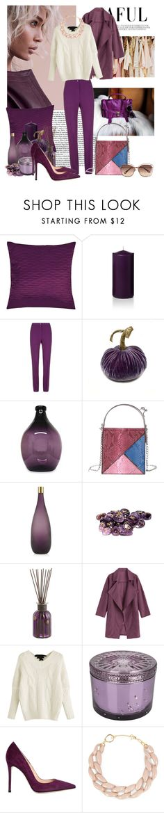 """""""My favourite color"""" by moni4e ❤ liked on Polyvore featuring Elie Saab, NOVICA, Rune NYC, Pier 1 Imports, Voluspa, Gianvito Rossi, DIANA BROUSSARD and Chloé"""
