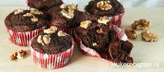 Chocolade bananenbrood muffins | Leuke recepten | Bloglovin'