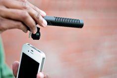 The iPhone Boom Mic - The Photojojo Store!