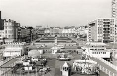 Archive photo of the West Pier Entrance, Regency Square, Brighton Brighton East Sussex, Brighton Rock, Brighton And Hove, Old Postcards, Old West, Old Photos, Paris Skyline, Entrance, Regency