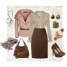 """romantic autumn"" by selenitabr on Polyvore"