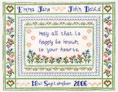Wedding - Cross Stitch Patterns & Kits (Page 5)
