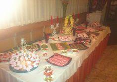 Así quedan nuestros candy bar. Especialmente dedicados a los momentos más dulces en las bodas :)  www.velagua.com