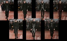 The Dandy Aviator: Alexander McQueen Men's Fall/Winter 2015