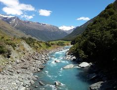 Start of the Rob Roy Glacier Track South Island New Zealand [OC] [3087 x 2377]
