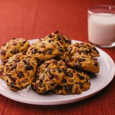 A perfect combination of sweet cranberries, pure pumpkin and creamy dark chocolate make these Pumpkin Dark Chocolate Cranberry Cookies from <i>Jamie Lothridge of MyBakingAddiction</i> a go-to treat to enjoy anytime!