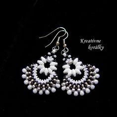 Handmade bead earrings