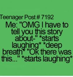 @Mia Cuccaro this is just like our conversations it's so bad haha!!