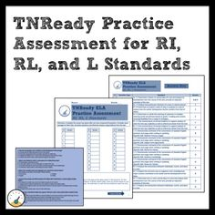 TNReady ELA Part II Practice Paper Assessment for Middle Grades #TNReady #RI #RL #L #TPT #TNEd #TNTeacher #ELA #TDOE Guided Practice, Writing Practice, Authors Point Of View, Rhetorical Device, Middle School Ela, Student Motivation, Anchor Charts, Assessment, A Table