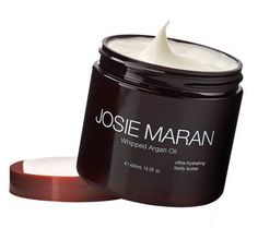 Whip your body into shape with the help of @Josi Martinez Maran Cosmetics's argan oil. I use it daily and especially at night. It feels like heaven and I love the way it makes my 50-something-year-old skin look.