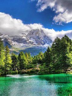 Valle d'Aosta, Italy.