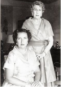 Spanish Royals | Royal Mothers and Daughters-in-law: Infanta Maria de las Mercedes, Countess of Barcelona, and Queen Victoria Eugenia
