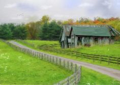 Barns Greeting Card featuring the photograph Autumn Barn by Mary Timman