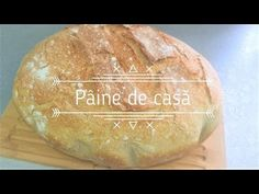 Homemade bread recipe step by step Emile Henry, Recipe Steps, Bread Recipes, Homemade, Lactose, Youtube, Table, Gourmet, Pastries