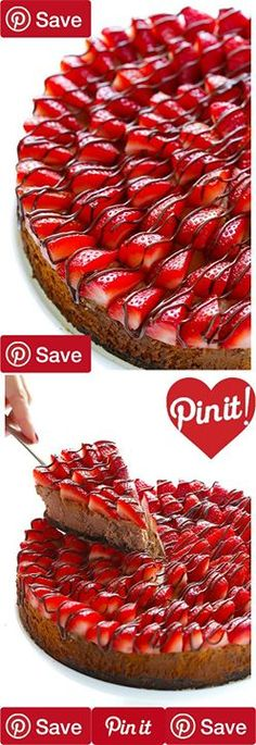 Strawberry Nutella Cheesecake 2 hrs to make serves 12-16 IngredientsProduce2 pints Strawberries freshRefrigerated3 EggsCondiments1 1/8 cup NutellaBaking & Spices1 cup Granulated sugar2 tsp Vanilla extractSnacks2 cups OreosDairy3 (8-ounce) bricks low-fat cream cheese3 tbsp Butter unsalted1 cup Greek yogurt plain