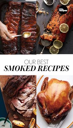 Our Best Smoked Recipes | MyRecipes Fire up that smoker and let's get cooking!