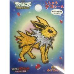 Pokemon Center 2013 Jolteon Embroidered Sticker