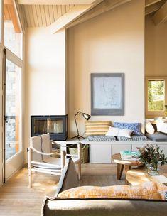 Livng Room, Interior Decorating, Interior Design, Cuisines Design, Cozy Cottage, Living Room Inspiration, Beautiful Interiors, Living Room Designs, Small Spaces