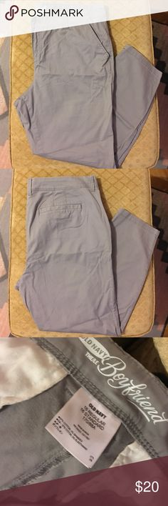 Old Navy Dress Pant These pants have a boyfriend fit and are made with very soft fabric Old Navy Pants Boot Cut & Flare