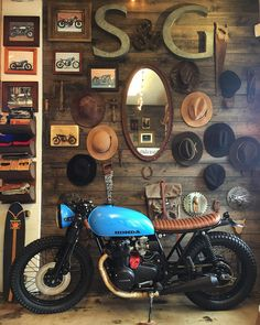 "seaweedandgravel: "" Thank you for all the interest in the #cb550 ! Although no has pulled the trigger yet. ""One of a kind is hard to find"" #seaweedandgravelgarage #caferacer #hondamotorcycles (at..."