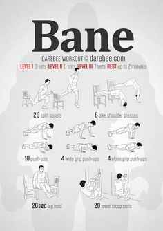 bane workout without weights - Google Search