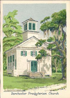 Dorchester Presbyterian Church by L. Quarterman