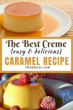 How To Make Delicious Creme Caramel {Video Tutorial} Custard Recipes, Pudding Recipes, Caramel Creme Brulee Recipe, Pelo Color Caramelo, Caramel Ingredients, Caramel Pudding, Chocolate Pudding, Banana Pudding, Leche Flan