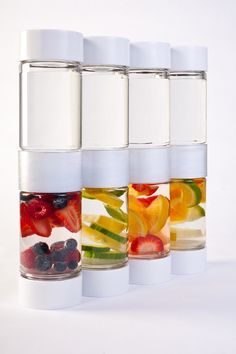 Define Bottle - A new fruit infused water bottle coming out in March