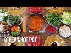 Hot Pot Recipe How to Korean Hot Pot at Home Deungchon Kalguksu Shabu Shabu & Fried Rice at the End! - YouTube Korean Dishes, Korean Food, Shabu Shabu Recipe, Filipino Recipes, Filipino Food, Chicken Schnitzel, Hot Pot, Palak Paneer, Fried Rice