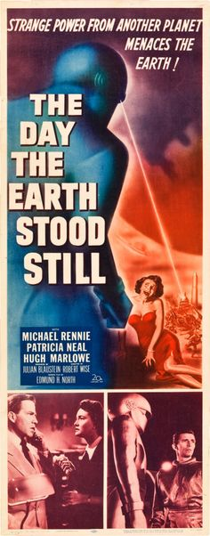 The Day the Earth Stood Still (20th Century Fox, 1951) I love director Sam Rami (Evil Dead etc.) and how he borrowed the words from Patricia Neal's mouth to open the book of the dead in his movie. Movie lover directing movies. AFS