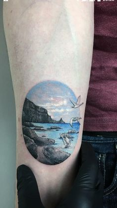 Children of Lir Tattoo. By Eva Krbdk. Tattoom Istanbul Turkey.