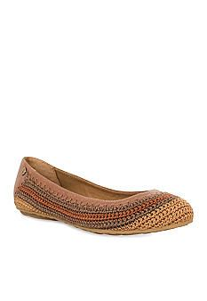 The Sak - Frannie Ballet Flat - Turquoise - Lord & Taylor Warehouse Clearance - Original Price 59 Dollars - Clearance Price 20