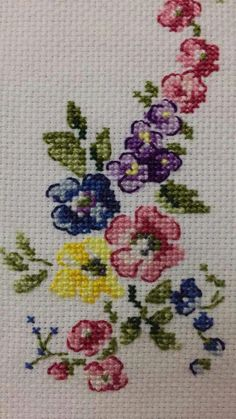 Cross Stitch Samplers, Cross Stitch Embroidery, Crossstitch, Cards, Cross Stitch Rose, Face Towel, Herb, Embroidery Stitches, Funny Cross Stitches