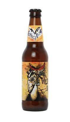 Pretty much all the label design from Flying Dog ales is awesome, this is the Farmhouse IPA #beer #ales #beerlables